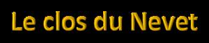 Clos du Nevet_Txt
