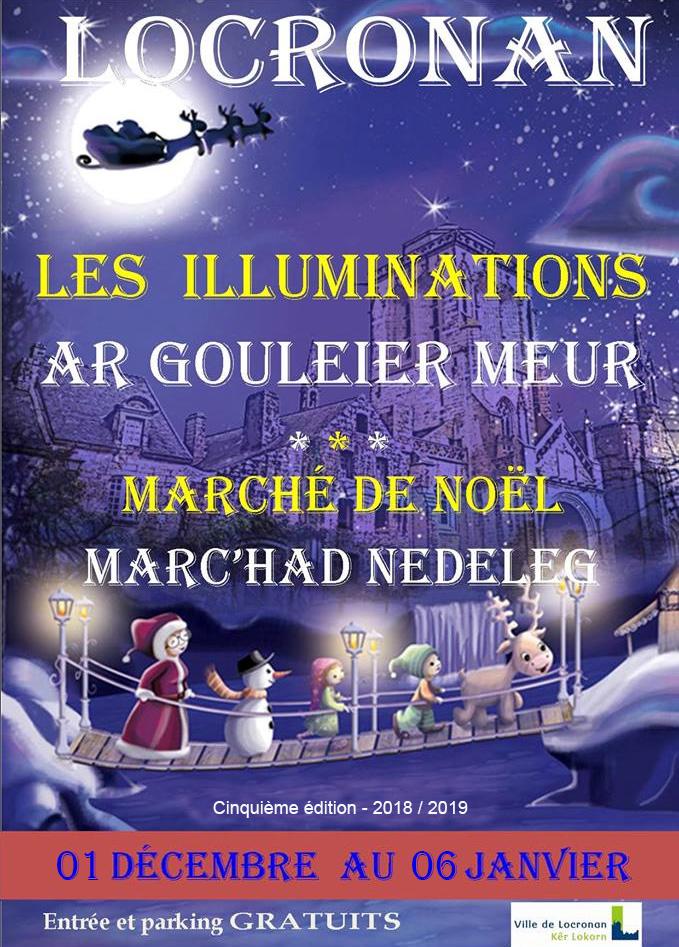 noel 2018 a locronan Illuminations de Noël | Ville de locronan noel 2018 a locronan